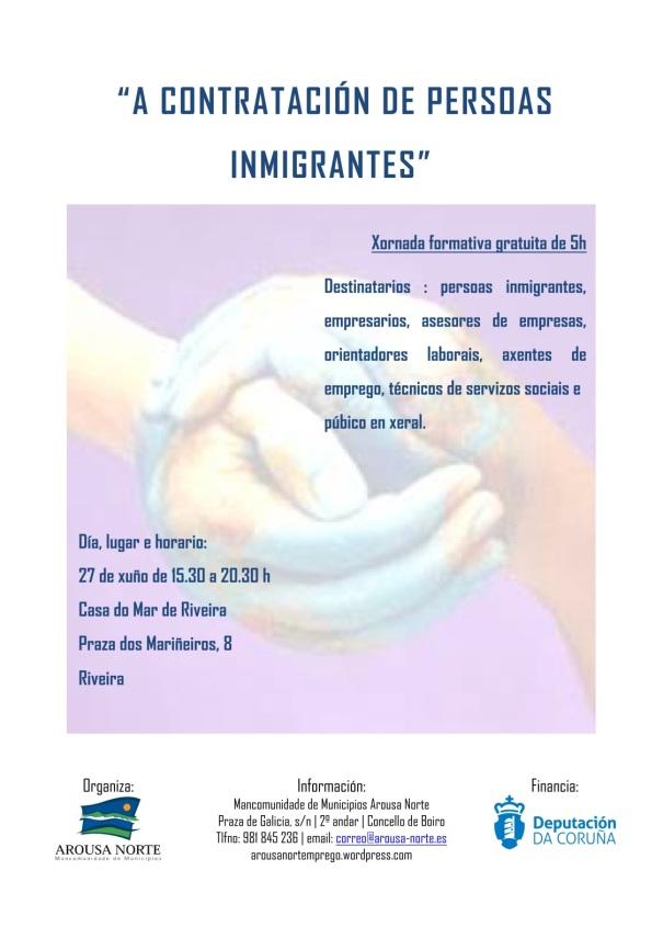 Xornada A contratación de persoas inmigrantes